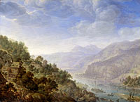 Herman Saftleven (II): View on the Rhine