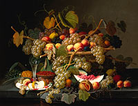 Северин Роесен: Still Life with Fruit