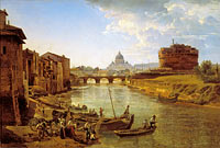 Sylvester Shchedrin: New Rome. The Castle of S.Angelo