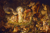 Joseph Noel Paton: The Quarrel of Oberon and Titania