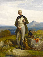William Allan: Sir Walter Scott, 1771 - 1832. Novelist and poet
