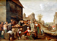 David Teniers the Younger: The Seven Corporal Works of Mercy