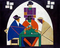Theo van Doesburg: Card players