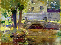 Theodore Robinson: The Bridge at Giverny