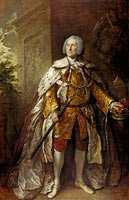 Thomas Gainsborough: John Campbell, 4th Duke of Argyll, about 1693 - 1770. Soldier
