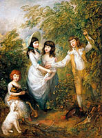 Thomas Gainsborough: The Marsham Children