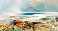 Thomas Moran: Hot Springs of the Yellowstone