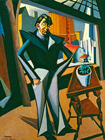 Lajos Tihanyi: Man Standing at a Window