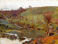 Tom Roberts: A quiet day on Darebin Creek
