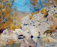 Tom Roberts: In a corner on the Macintyre