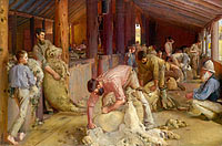 Tom Roberts: Shearing the rams