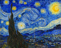 Vincent van Gogh: The Starry Night (2)
