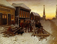 Vasily Grigorevich Perov: The Last Tavern at the City Gates
