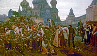 Vasily Surikov: Morning of the Execution of the Streltsy