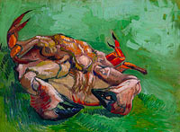 Vincent van Gogh: A crab on its back (1)
