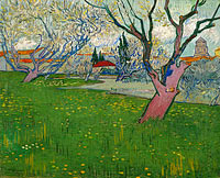 Винсент Ван Гог: Orchards in blossom, view of Arles