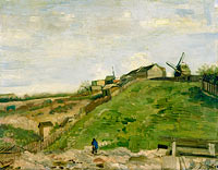 The hill of Montmartre with stone quarry (2)