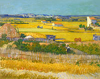 Vincent van Gogh: The harvest (1)