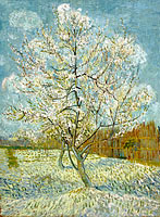Vincent van Gogh: The pink peach tree