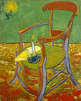 Vincent van Gogh: Gauguin's chair