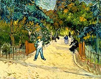 Vincent van Gogh: Entrance to the Public Gardens in Arle