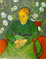 Vincent van Gogh: La Berceuse (Portrait of Madame Roulin)