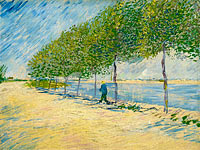 Vincent van Gogh: Along the Seine
