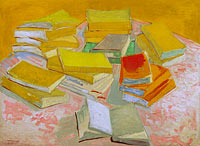 Vincent van Gogh: Piles of French novels