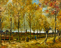 Vincent van Gogh: Lane with Poplars near Nuenen
