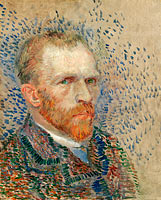 Vincent van Gogh: Self-portrait (1)