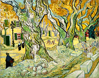 Vincent van Gogh: The Road Menders (2)