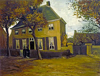 Vincent van Gogh: The vicarage at Nuenen (2)
