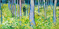 Vincent van Gogh: Undergrowth with Two Figures