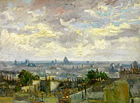 Vincent van Gogh: View of Paris