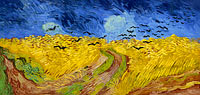 Винсент Ван Гог: Wheatfield with crows