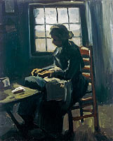 Woman Sewing (4)