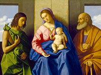 Vincenzo Catena: Virgin and Child with Saints John the Baptist and Joseph