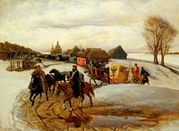 Vyacheslav Schwarz: The Spring Pilgrimage of the Tsarina, under Tsar Aleksy Mihailovich