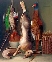 W. B. Gould: Still life with game