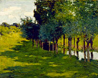 Willard Leroy Metcalf: Sunlight and Shadow
