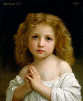 William-Adolphe Bouguereau: Little Girl