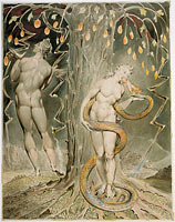"The Temptation and Fall of Eve (Illustration to Milton's ""Paradise Lost"")"