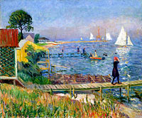 William Glackens: Bathers at Bellport