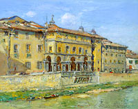 William Merritt Chase: Florence