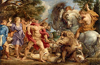Peter Paul Rubens: The Calydonian Boar Hunt