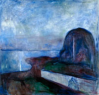 Edvard Munch: Starry Night