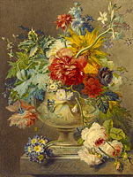 Георг Якоб Иоганн ван Ос: Bouquet of Flowers in a Vase