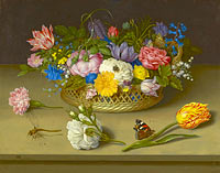 Ambrosius Bosschaert the Elder: Flower Still Life