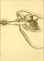 Woman in the Bath Drying her Arm