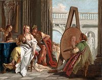Джованни Баттиста Тьеполо: Alexander the Great and Campaspe in the Studio of Apelles